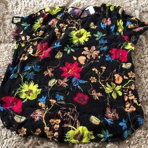 H&M's colorful Floral shirt